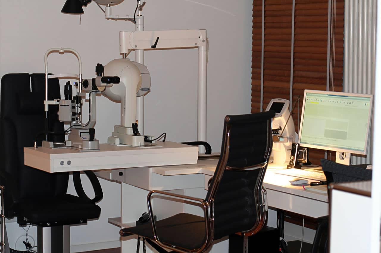 Ophthalmologische Untersuchungseinheit