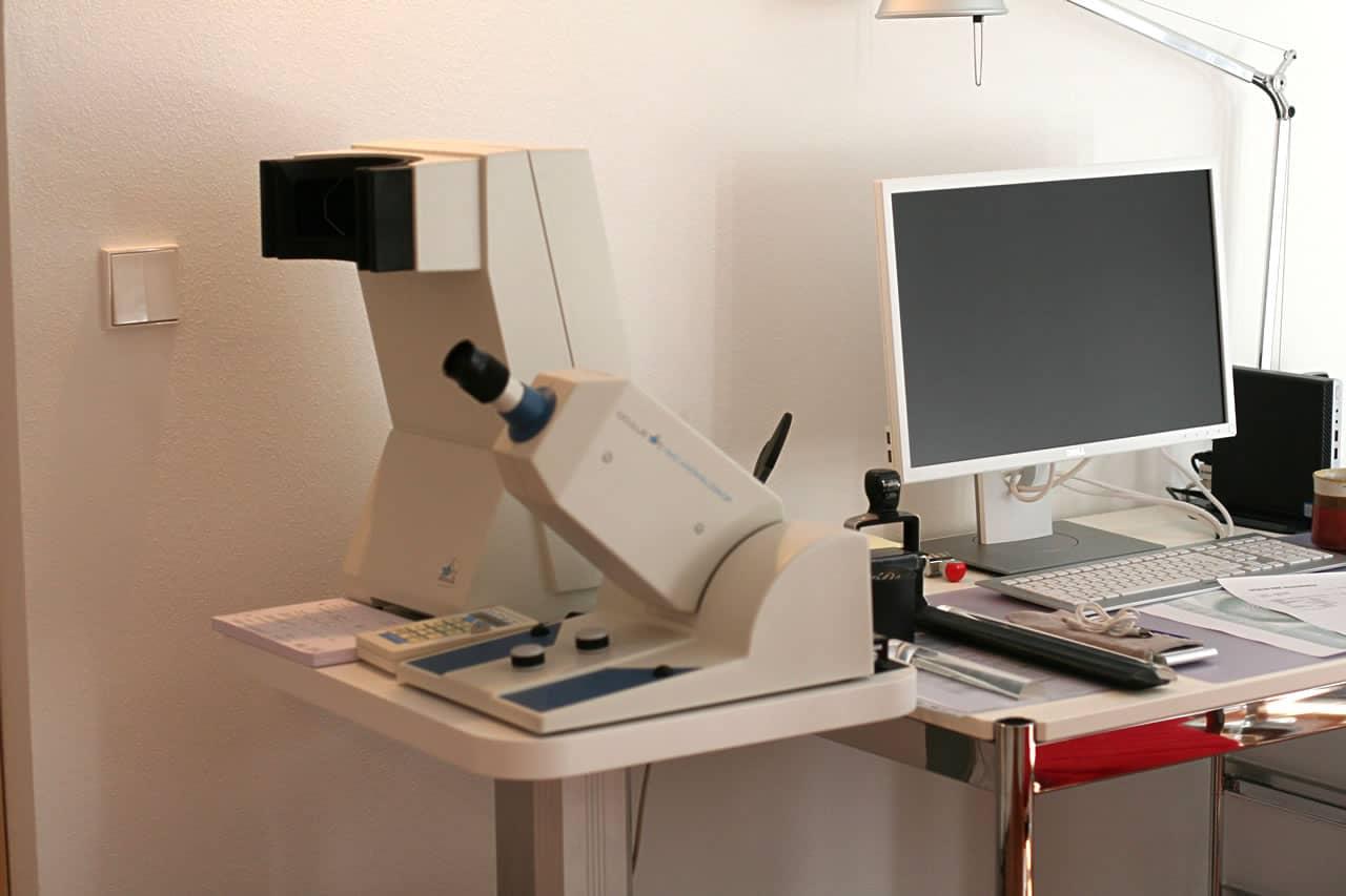 Mesotest II und HMC Anomaloskop